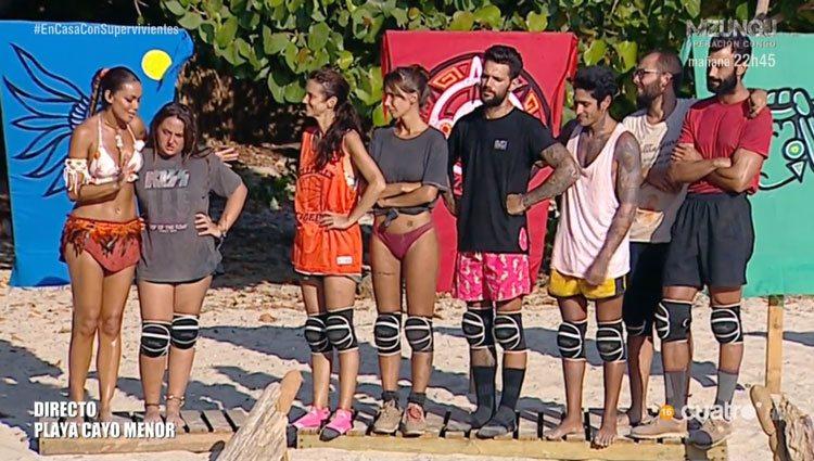 Rocío Flores con el resto del grupo/ Foto: telecinco.es
