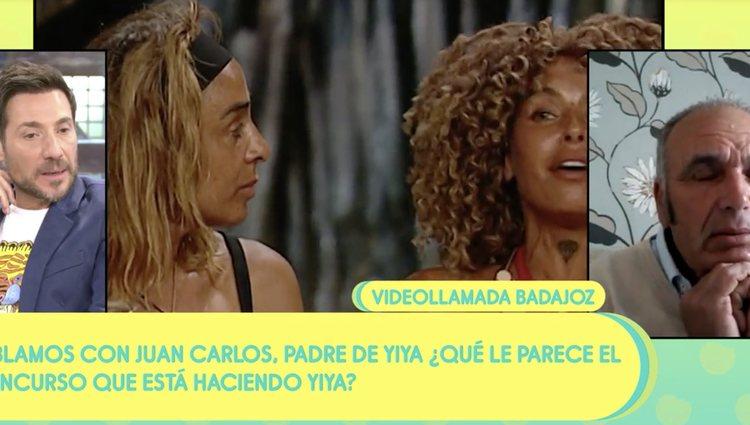 El padre de Yiya sale en defensa de su hija | Foto: Telecinco.es