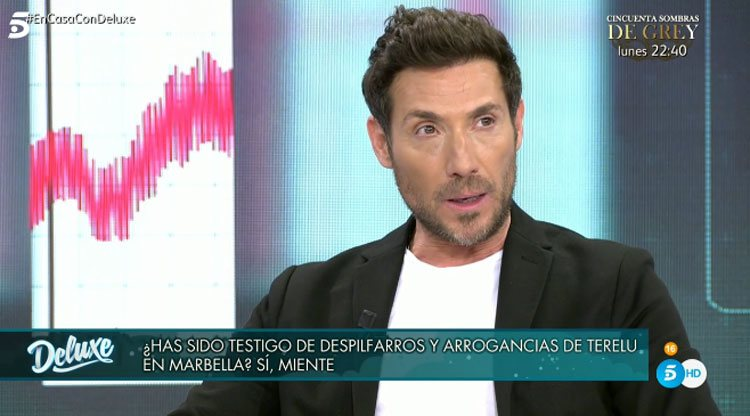 Antonio David Flores en 'Sábado Deluxe'