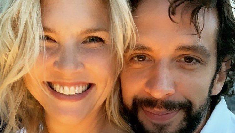 Nick Cordero y su mujer muy felices en una foto de Instagram