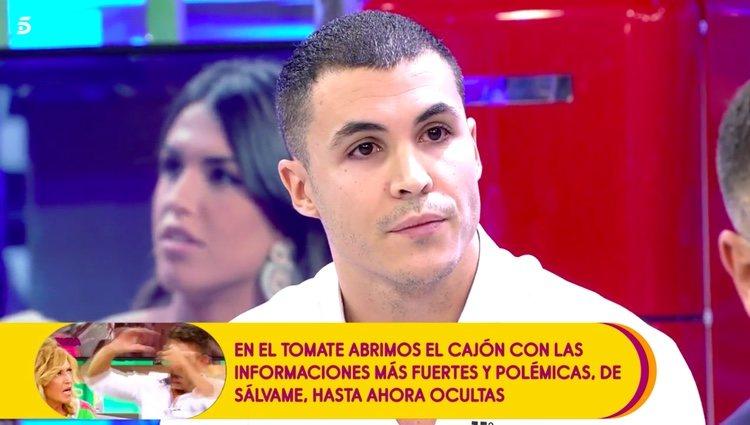 Kiko Jiménez desmintiendo la versión de Suso / Telecinco.es