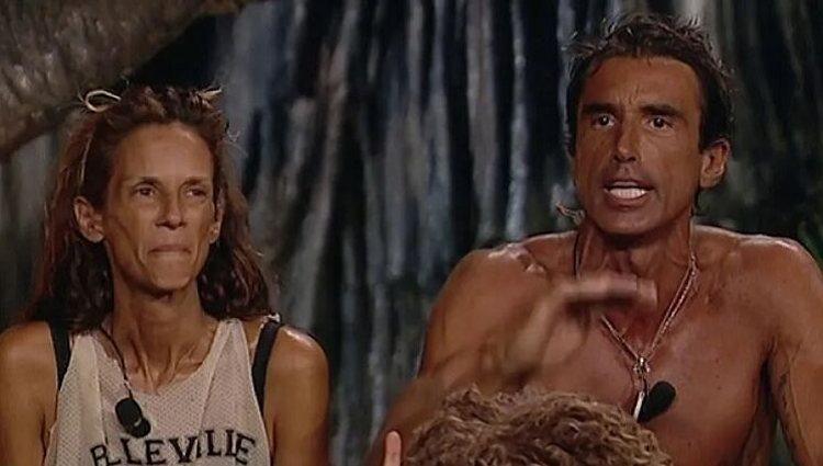 Hugo Sierra y Elena protagonizaron una fuerte bronca en palapa | Foto: Telecinco.es