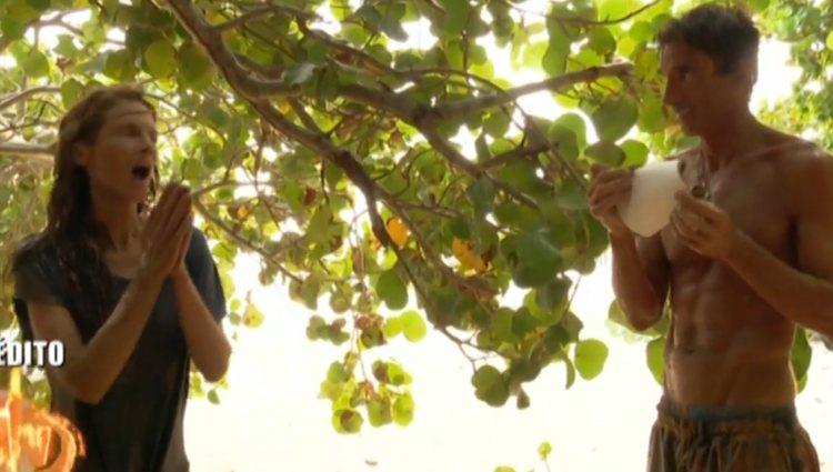 Elena, sorprendida por la foto de su nieto | Foto: telecinco.es