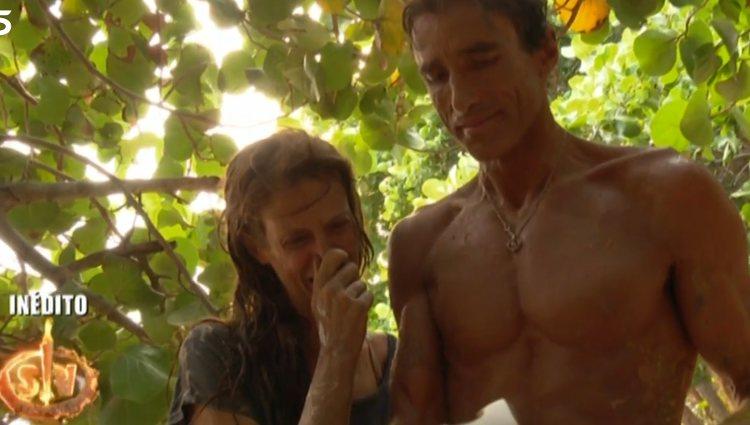 Elena y Hugo, emocionados | Foto: telecinco.es