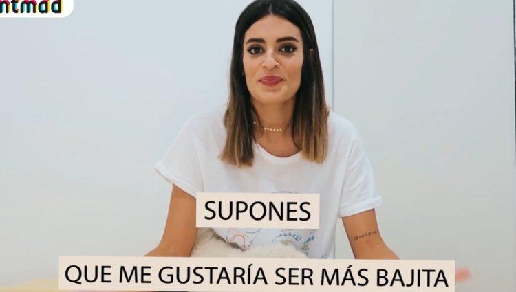Susana Molina hablando de Gonzalo | Foto: MTMAD