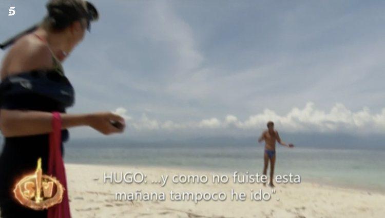 Hugo Sierra le echa en cara su s palabras a Ana María Aldón | Foto: Telecinco.es