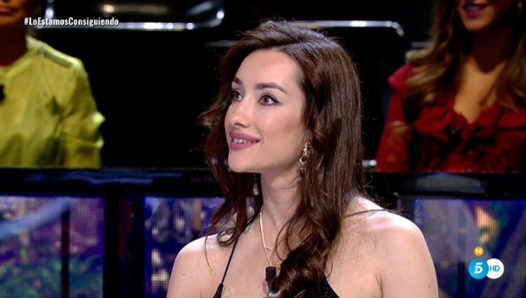 Adara, feliz ante las adversidades |Foto: Telecinco.es