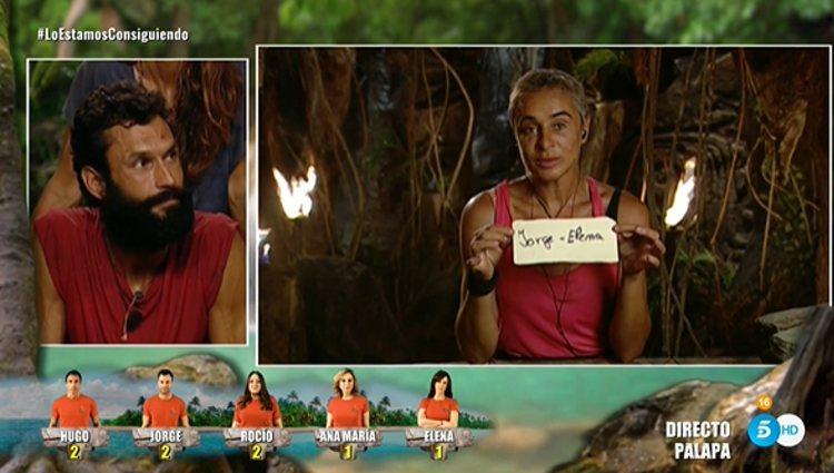 Ana María Aldón nominó a Jorge y a Elena | Foto: Telecinco.es
