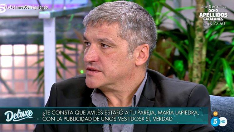 Gustavo González en el polígrafo   Foto: telecinco.es