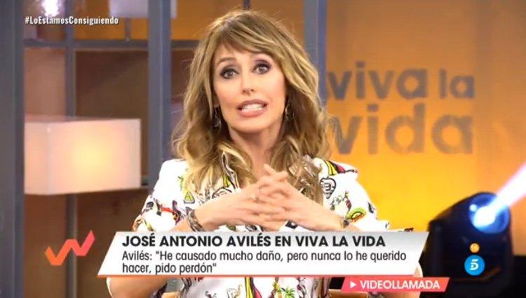 Emma García habla claro con José Antonio Avilés / Telecinco.es
