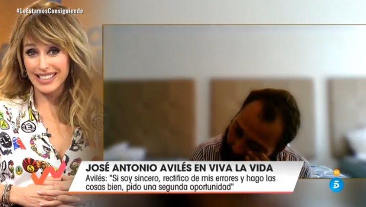 José Antonio Avilés se derrumba con las palabras de Emma García / Telecinco.es