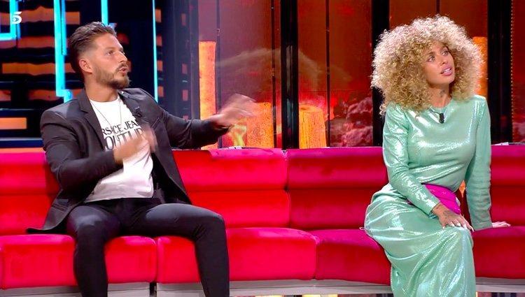 Nyno y Yiya hablando de los kilos que han cogido tras volver a España / Telecinco.es