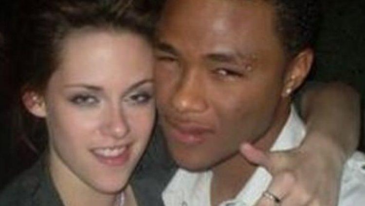 Gregory Tyree con Kristen Stewart   Foto: Twitter