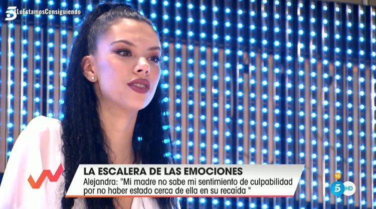 Alejandra Rubio en 'Viva la vida'