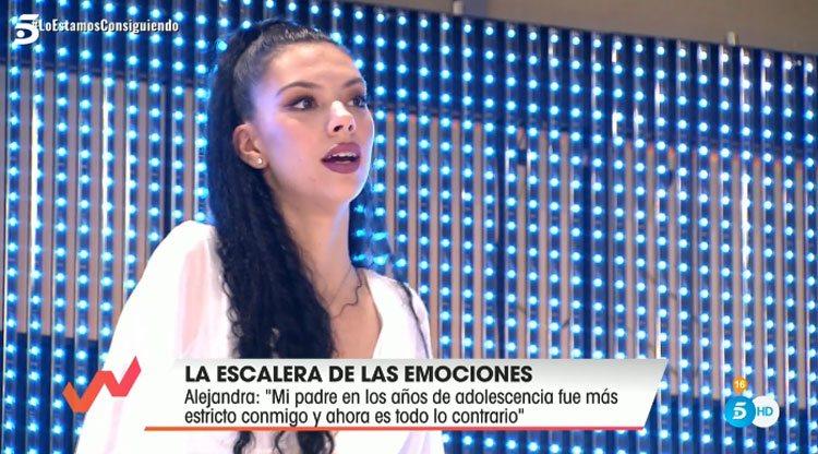 Alejandra Rubio pidió perdón a su madre