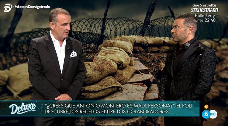 Antonio Montero y Jorge Javier Vázquez en 'Sábado Deluxe'