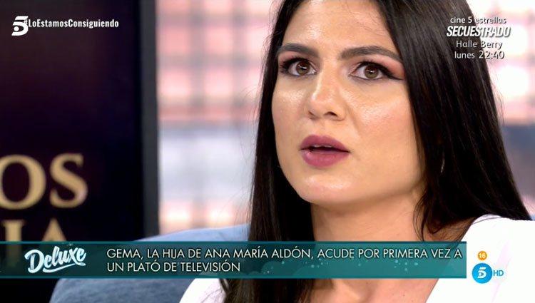 La hija de Ana María Aldón en 'Sábado Deluxe'