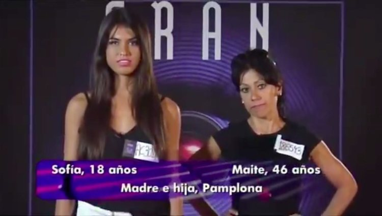 Maite Galdeano participó con Sofía Suescun en 'Gran Hermano'