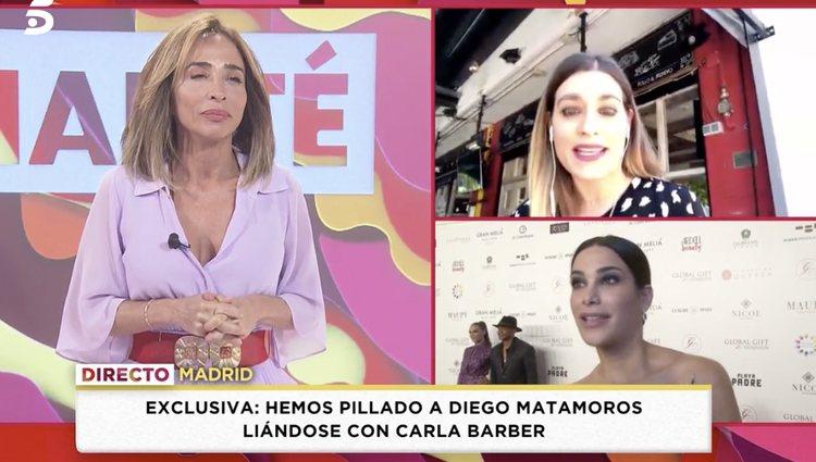 Laura Matamoros podría ser el enlace entre los dos | Foto: Telecinco.es