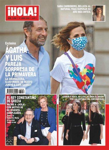 Ágatha Ruiz de la Prada y Gasset, juntos en la portada de ¡HOLA!