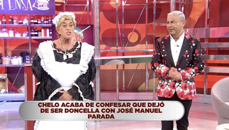 Chelo García Cortés recuerda con cariño la primera vez con Parada | Foto: Telecinco.es