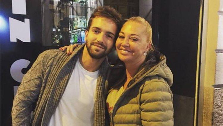 Belén Esteban y Pablo Alborán se conocen desde hace años | Foto: Instagram