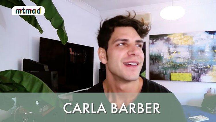 Diego Matamoros, ilusionado hablando de Carla Barber/ Foto: Mtmad