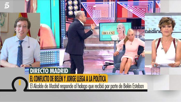 Almeida en 'Ya es mediodía'/ Foto: telecinco.es