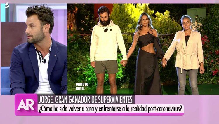 Jorge Pérez asegura que todavía no se ha acostumbrado </p><p>a la nueva vida | Foto: Telecinco.es