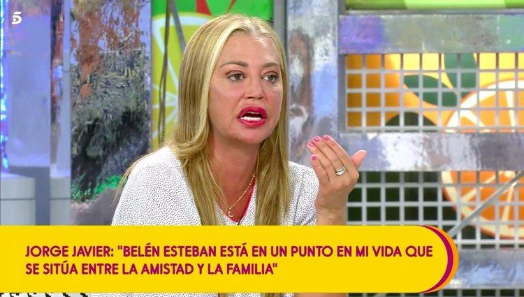 Belén Esteban sigue muy dolida con Jorge Javier / Telecinco.es