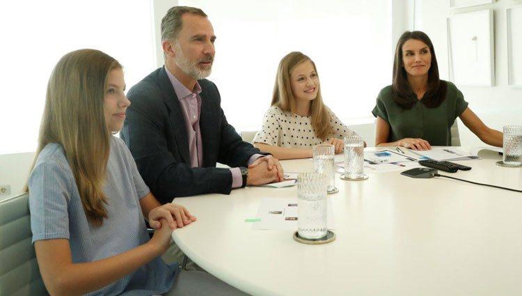 La Familia Real en un encuentro virtual con los ganadores de los Premios Princesa de Girona 2020