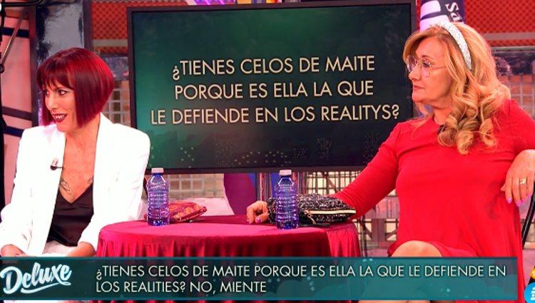 Maite y Raquel en 'Sábado Deluxe' | Foto: telecinco.es