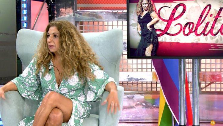 Lolita en 'Sábado Deluxe' | Foto: telecinco.es