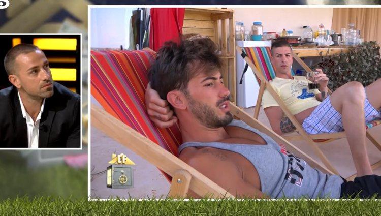 Rafa escucha atentamente a Iván | Foto: telecinco.es