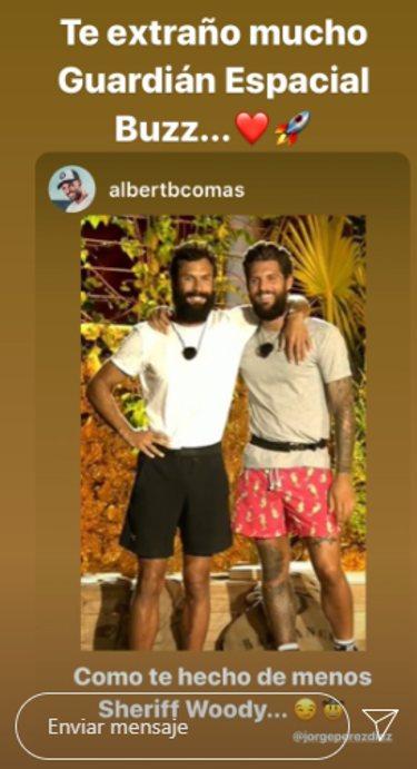 Los mensajes de Jorge y Barranco | Instagram