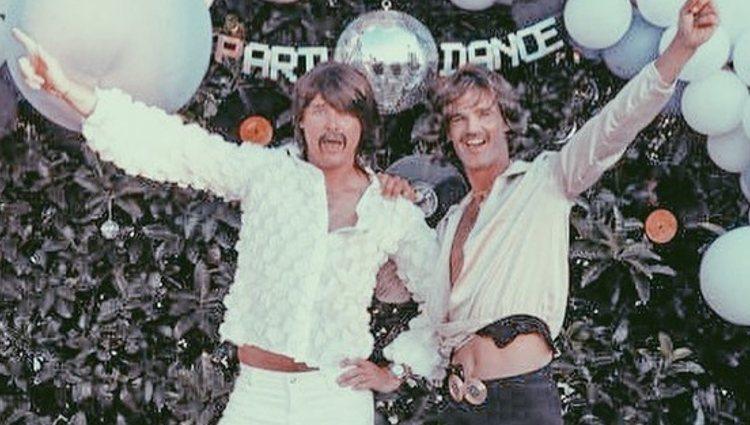 José Bono Jr y Aitor Gómez en su fiesta | Instagram
