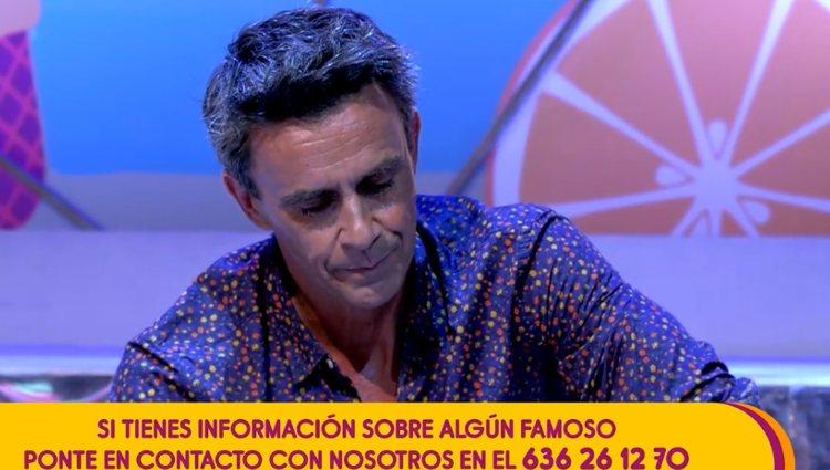 Alonso Caparrós se viene abajo | Foto: telecinco.es