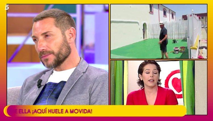 Antonio David hablando de Rocío Carrasco / Telecinco.es