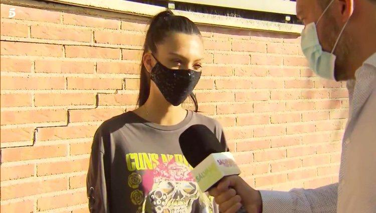 Alejandra hablando de Lobo y de Suso / Telecinco.es