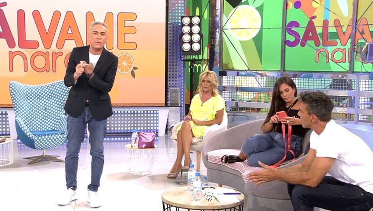 Anabel y Kiko discutiendo | Foto: telecinco.es