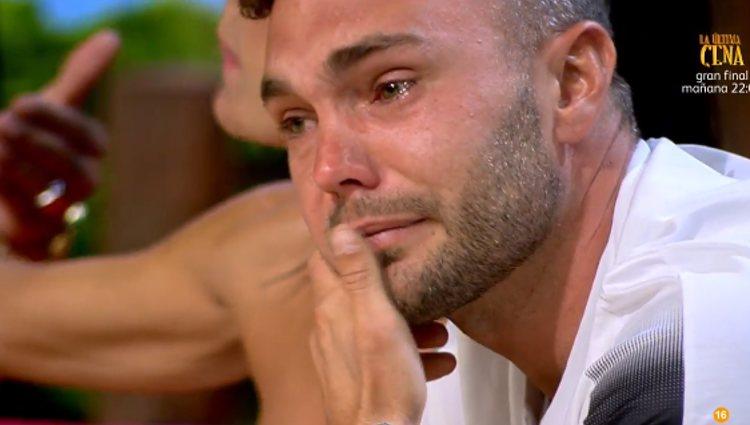 Cristian llorando | Foto: telecinco.es