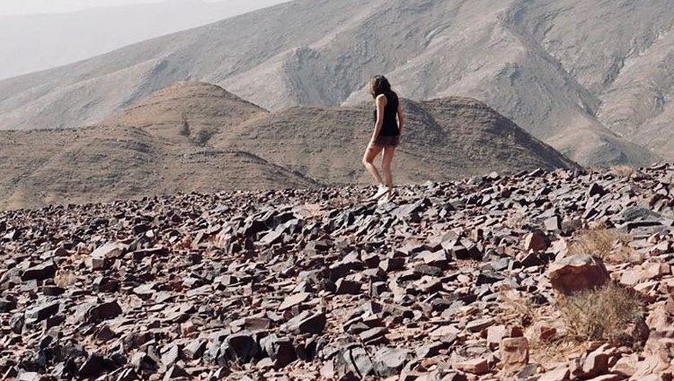Paz Padilla en el mensaje de despedida a su marido / Instagram