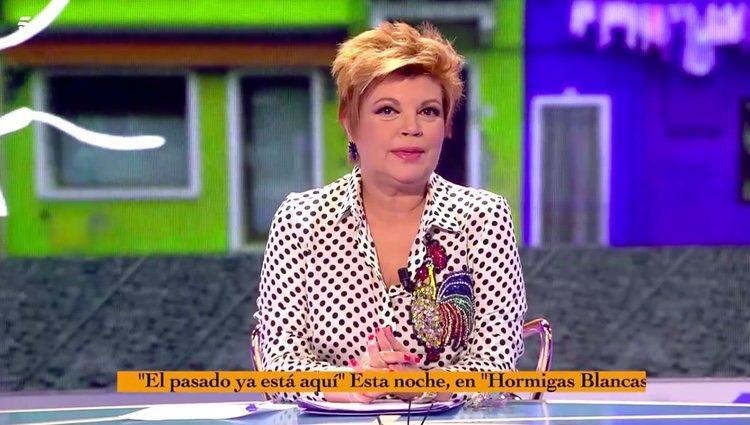 Terelu Campos hablando del hombre de su vida / Telecinco.es