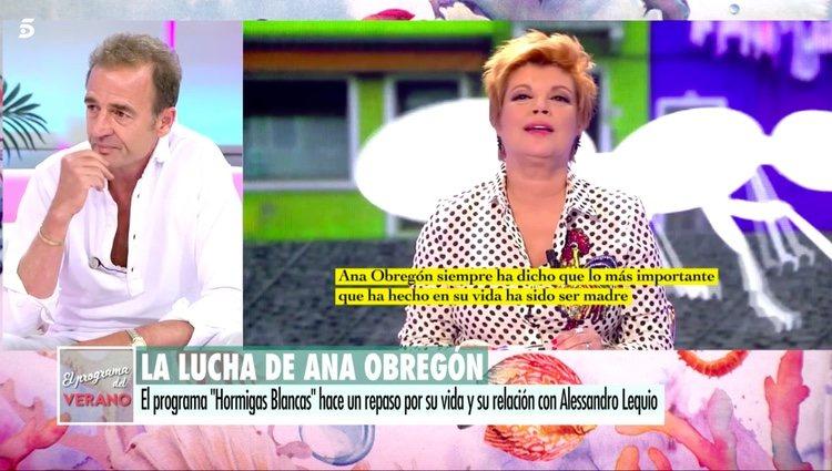 Alessandro Lequio hablando de 'Hormigas blancas' / Telecinco.es