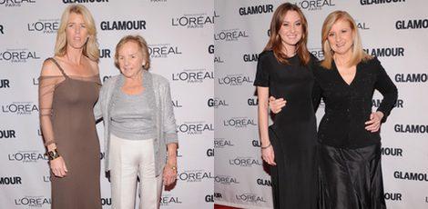 Las Kennedy y las Huffington en los Premios Glamour Mujeres del Año 2012