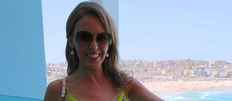 Kylie Minogue despide 2012 en su Australia natal