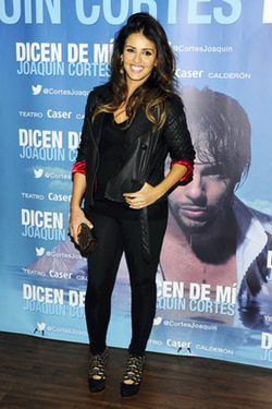 Mónica Cruz presume de embarazo