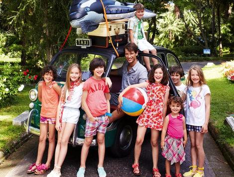 Looks de la colección primavera/verano 2013 de Benetton para niños