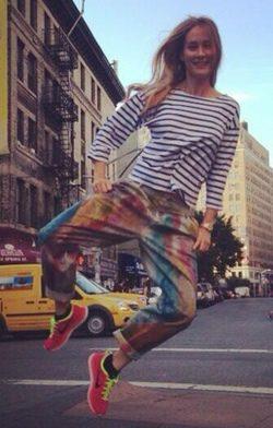 Vanesa Lorenzo en Nueva York