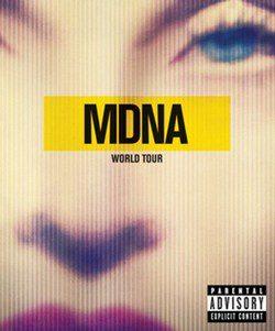 Portada de 'MDNA World Tour'